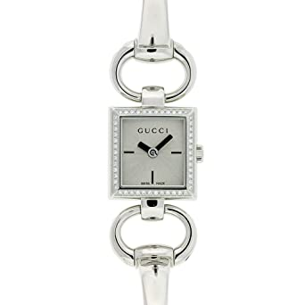 e412bfa70 GUCCI Women's YA120506 Tornabuoni Watch: Amazon.co.uk: Watches
