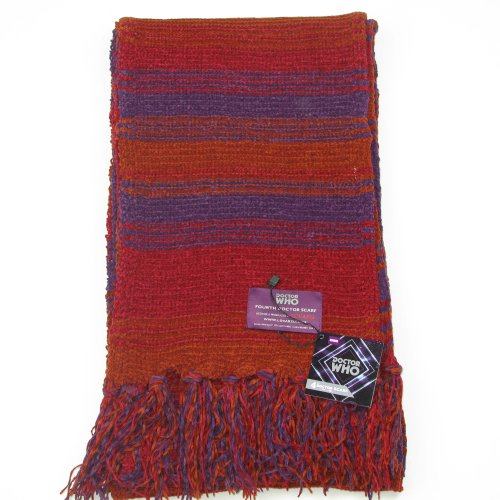 Amazon Doctor Who Scarf Season 18 Official Bbc Tom Baker 4th