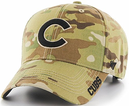 Chicago Cubs Hat Buckle Back Camouflage Myers MVP 11643