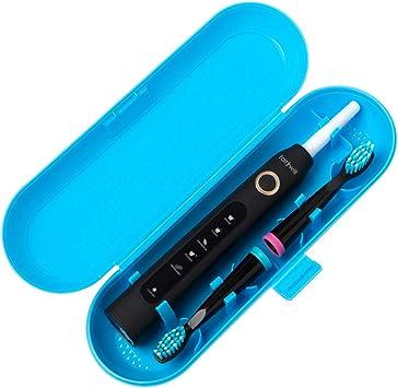 Estuche de viaje de plástico con cepillo de dientes eléctrico para la serie Fairywill, azul: Amazon.es: Salud y cuidado personal