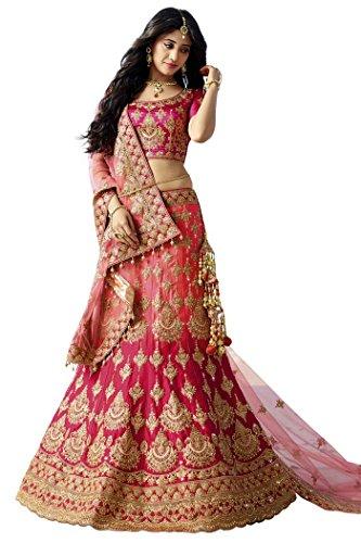 INMONARCH-Womens-Designer-Magenta-Satin-Lehenga-Choli-LKI13045-stitched