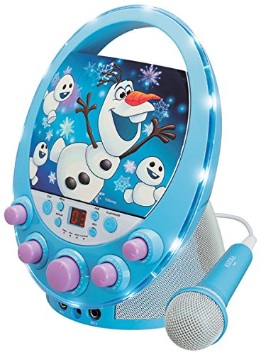 Frozen KO2-04027 Oval Flashing Light Karaoke by Frozen (Image #1)