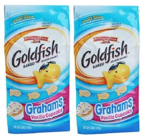 Sweet Vanilla Cake (Pepperidge Farms Vanilla Cupcake Goldfish Baked Grahams, 2 Pack)