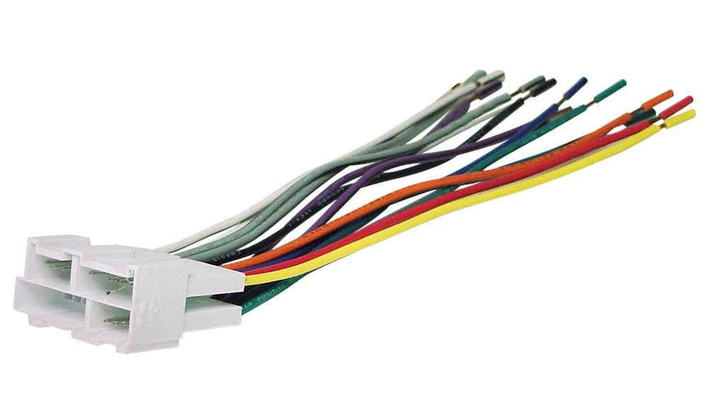 510%2BIQyXvtL._SL1000_ amazon com scosche gm02b wire harness to connect an aftermarket Ford Radio Wiring Diagram at soozxer.org