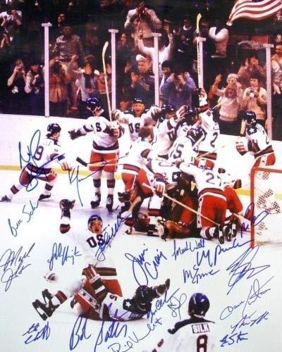 Miracle on Ice 1980 USA Hockey - Reprint 8x10 inch Photograph - Olympic HOCKEY