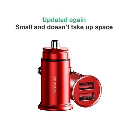 Amazon.com: Cargador de coche de carga rápida con puerto USB ...