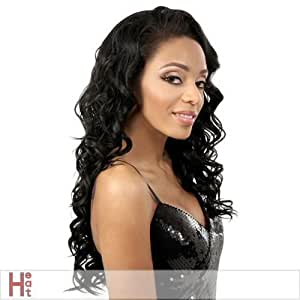 Motown Tress - LFE-CANON - Heat Resistant Fiber Lace Front Wig in 4
