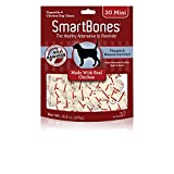 SmartBones Rawhide-Free Dog Chews, Mini, Made With...