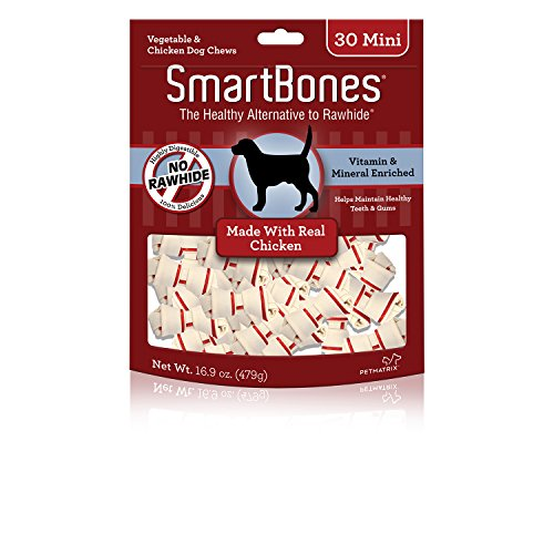 ee Dog Chews, Mini, Made With Real Chicken (Mini Knotted Bones)