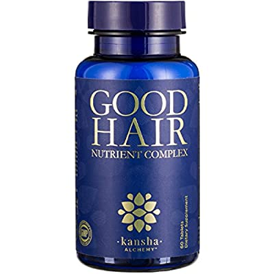 Good Hair Growth Vitamins + Biotin, DHT Blocker, 20+ Minerals/Herbs - Stop Shedding & Grow Longer, Stronger, Healthier Hair, Men and Women, 60 Tabs