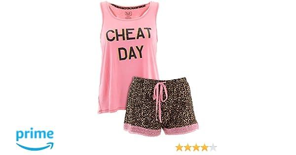463543e814 Pillow Talk Women s Fun Novelty Short Pajamas at Amazon Women s Clothing  store