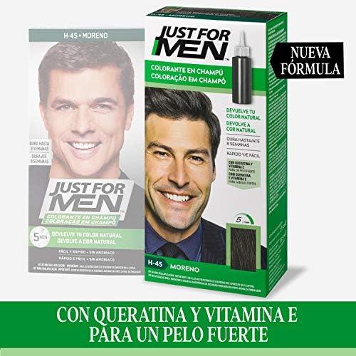 Just For Men, Tinte Colorante en champu para el cabello del ...