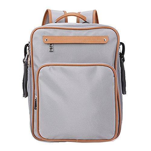 bigforest multifunción 4en 1Set Bebé Pañales para pañales bolso cambiador momia mochila bolsa de viaje bolso