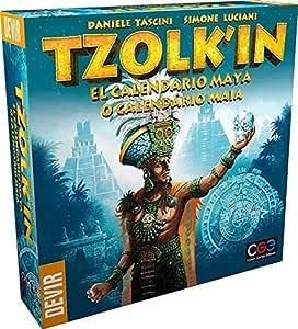 Devir - Tzolkin Juego de Tablero , color/modelo surtido: Amazon.es: Juguetes y juegos