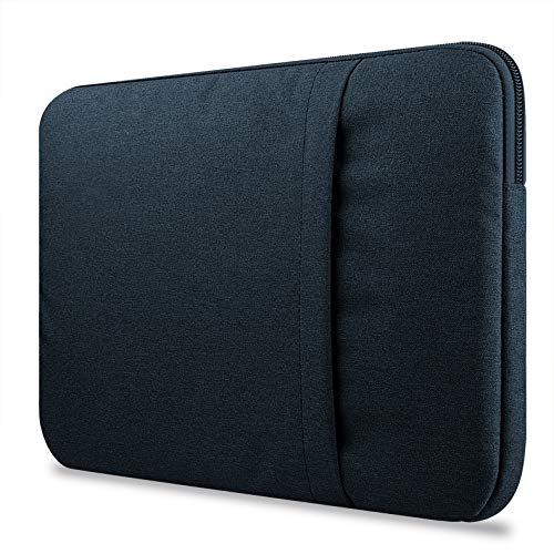 inShang Shockproof Water Resistant Fabric Sleeve Pouch Cover Case for Apple iPad Pro 12.9 inch  Blue