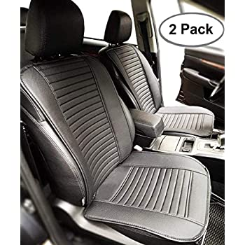 Big Ant Car Seat Cushion, Full Size 2 PCS Breathable Universal Four Seasons  Interior Front or Back Seat Covers for Auto Supplies Office Chair with PU