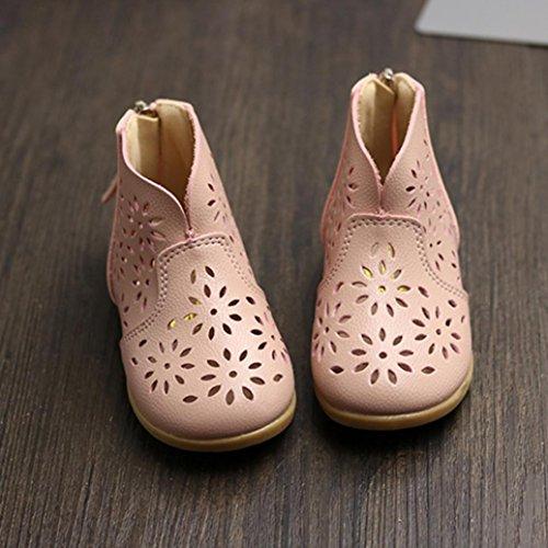 Enfants Fille Appartement Rose Chaussures Des Mode Fleur Sandales Imjono Été Filles Gros Gamins Princesse q60AxC