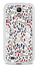 Anchors Aweigh Boats White Silicone Case for Samsung Galaxy S4