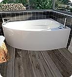 Kohler K 1155 0 5454 Corner Bath White Drop In Bathtubs