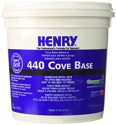 Cove Base Adhesive - HENRY, WW COMPANY 12111 Cove Base Adhesive