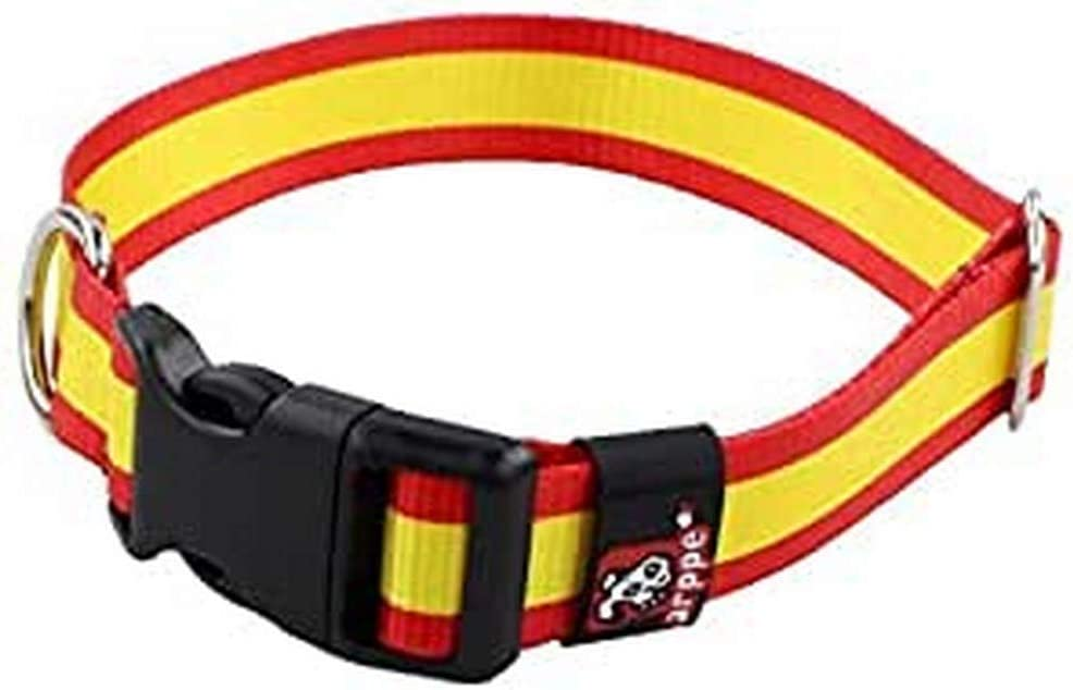 Arppe 196122545561 Collar Nylon Bandera: Amazon.es: Productos para mascotas
