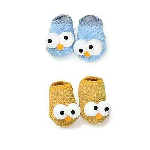 37a6ecb35405 Amazon.com  PanGa Baby Boys Girls Socks Set Anti-Slip Slippers Soft ...