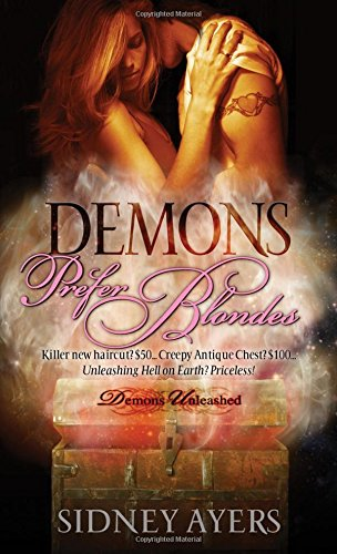 book cover of Demons Prefer Blondes