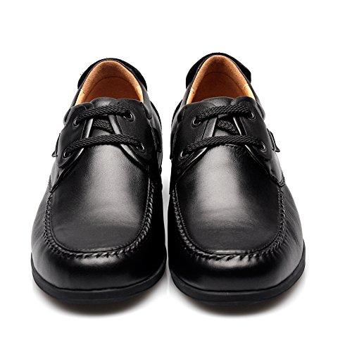 Chamaripa Hauteur Augmentant Semelles Chaussures En Cuir Hommes Robe Ascenseur Chaussures Soulève 2.56 Plus Grand 010h02-1