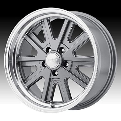 american-racing-vintage-vn527-15x8-gray-wheel-rim-5x45-with-a-0mm-offset-and-a-765-hub-bore-partnumb