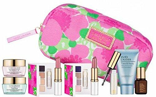 New Estee Lauder printemps 7pc peau Maquillage Ensemble-cadeau $ 120 + valeur avec sac cosmétique