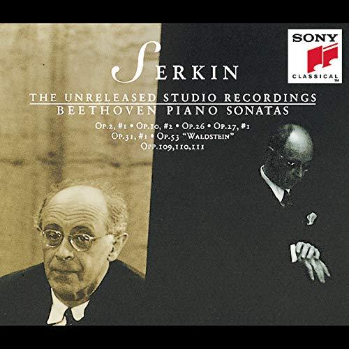 Beethoven: Piano Sonatas - The Unreleased Studio Recordings of Rudolf Serkin