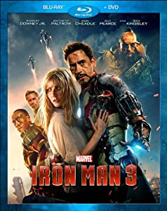Cover Image for 'Iron Man 3 (Blu-ray / DVD Combo Pack)'