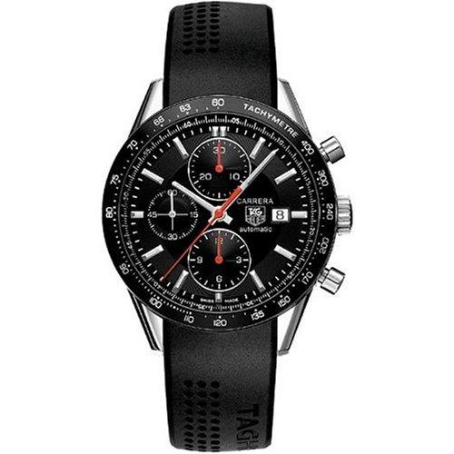 TAG Heuer CV2014.FT6007 - Reloj de pulsera hombre, Caucho