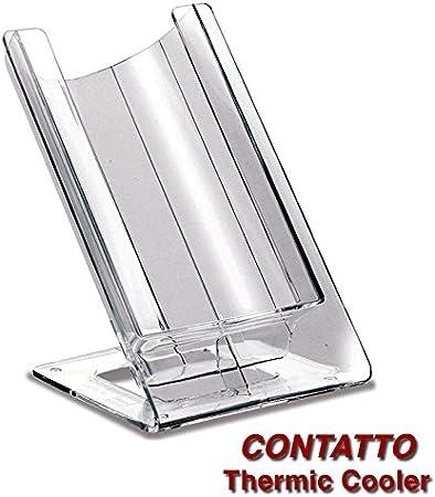 Contatto Contatto Bianco, Elemento Nero Gelette Termica Vino per Bottiglie Standard da 75 cl Dvm Stand Refrigerante
