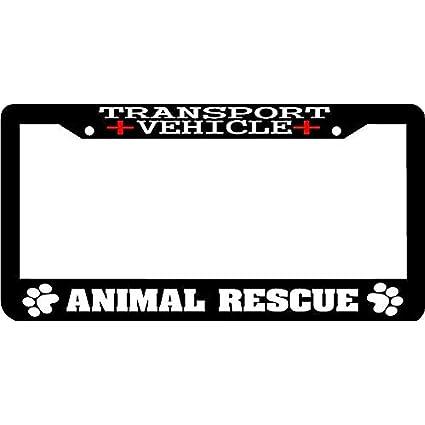 Amazon.com: Chik yx Black License Plate Frame, Humor Funny License ...