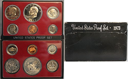 1973 S US Mint Proof Set Original Government Packaging ()