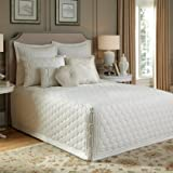Lexington Fitted Bedspread Ivory King