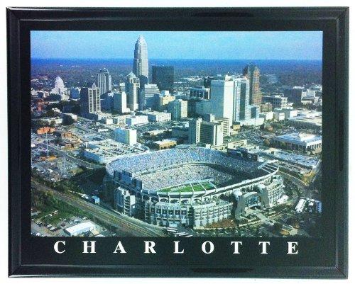 Football Carolina Panthers Stadium Framed Print Wall Art ()