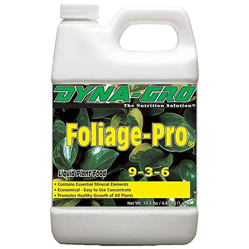 Dyna-Gro FOL-100 Foliage-Pro Liquid 9-3-6, 1-Gallon Plant Food, 1 Gallon