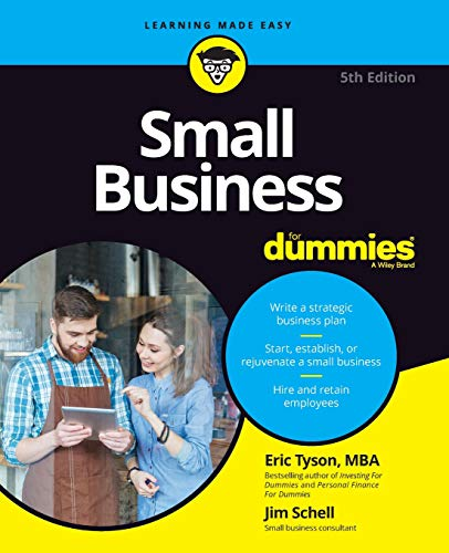 Small Business For Dummies (Business Plan For Starting A New Business)