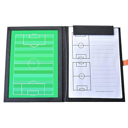 AGPTEK Leather Soccer Tactics Board, Soccer Coach Magnetic Board, for Coaches