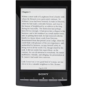 """Sony PRS-T1 6"""" Digital E-Ink Pearl eReader with Wi-Fi (Black)"""