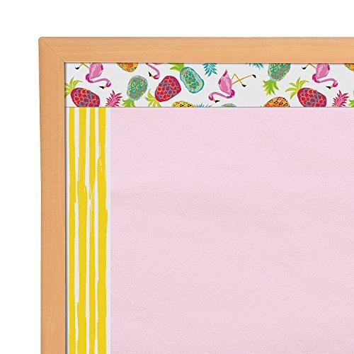 Fun Express - Pineapple Bulletin Board Border - Educational - Classroom Decorations - Bulletin Board Decor - 12 Pieces
