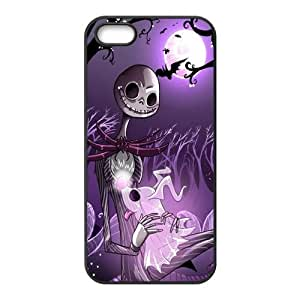 Customiz Cartoon Movie Nightmare Before Christmas Back Case for iphone 5 5S JN5S-2534