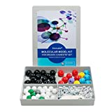 Organic Chemistry Model Kit (125 pieces)-Molecular Model Kit for General and Organic Chemistry-Student or Teacher pack with Atoms, Bonds and Instructional Guide