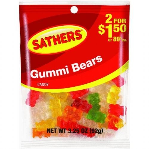 Gummi Bears Candy by Farley's & Sathers