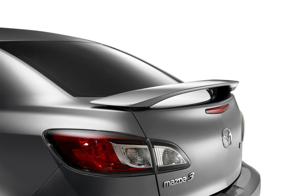 Mazda 3 Spoiler Painted in the Factory Paint Code of Your Choice 312 34K Spoiler and Wing King ®