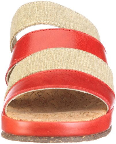 Sandales Fortuna Femme 18 489035 Mode tr Vera d2 Cali Rouge n1CrxSC