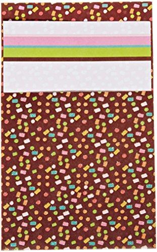 Mara-Mi Confetti Party Glitterette Imprintable Invitation, 10-Count (45993) ()