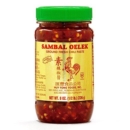 (Huy Fong Chili Paste Sambal Oelek 8 oz each (1 Item Per Order))